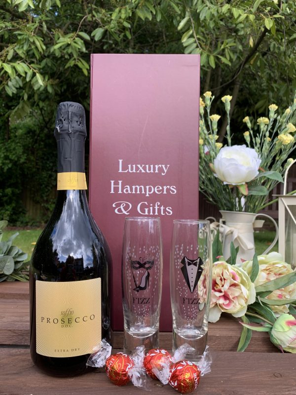 luxury hampers his and her gifts